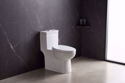 Picture of 1.6 GPF Elongated One-Piece toilet (Seat Included)