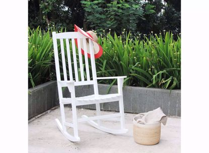 Picture of Gavini Alston Wood Porch Rocking Chair